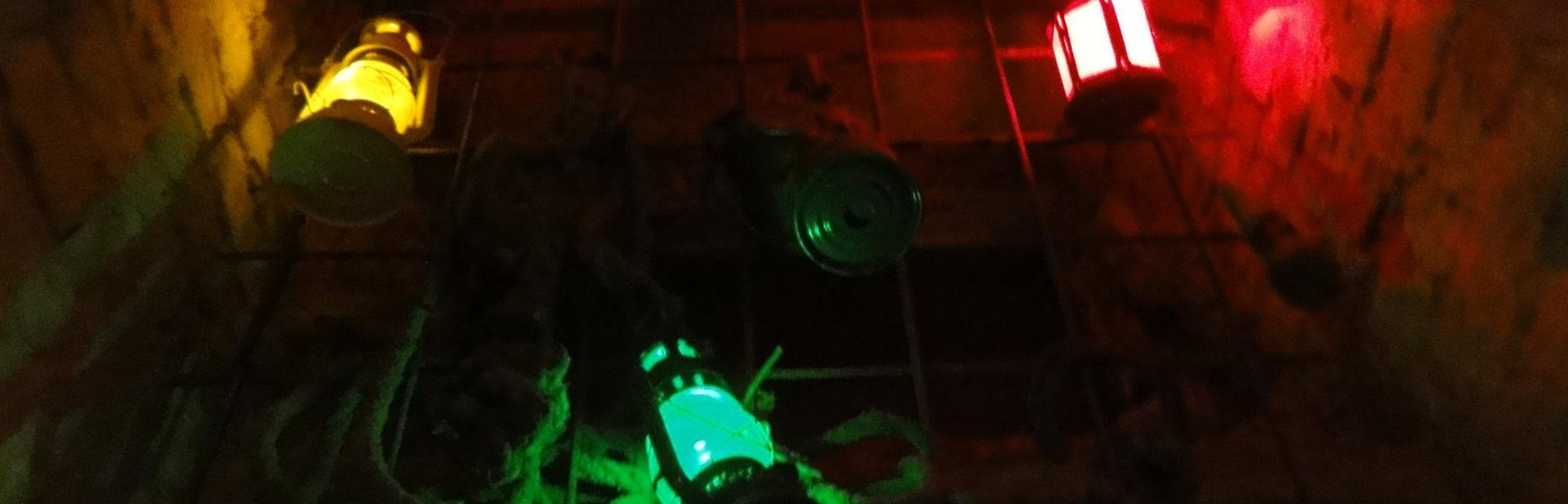 Napuche szabadulószoba lámpák
