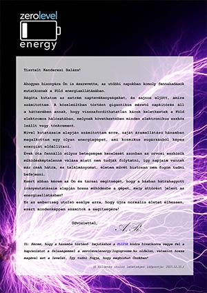 Zero Level Energy ajándékutalvány